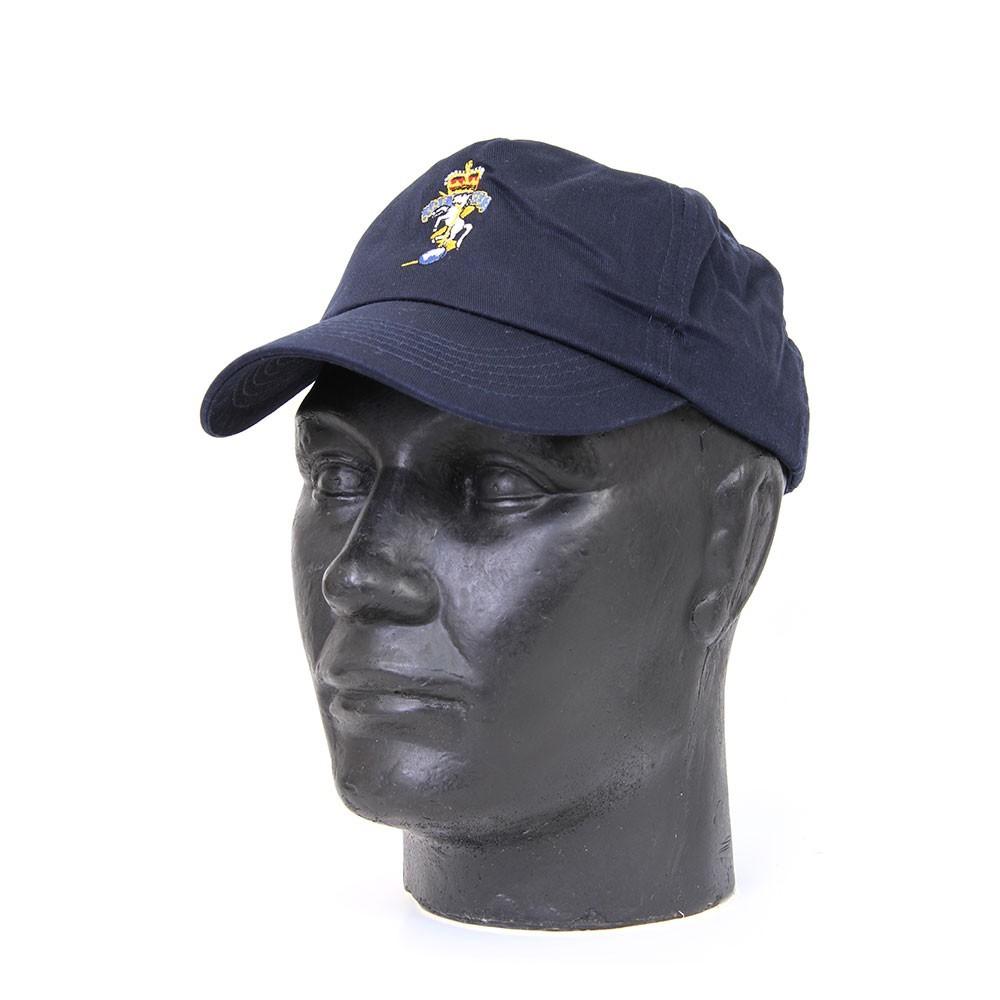 3f22c57ff50 REME Baseball Cap Navy   Black – The REME Shop